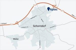 kptec Standort Schorndorf